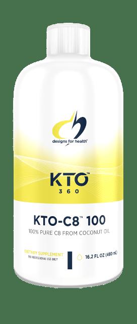 KTO-C8 100 16.2 fl oz (480 mL) Designs for Health