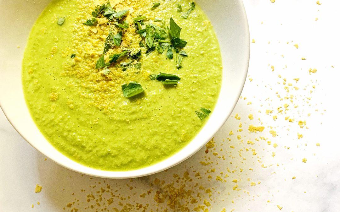 Seasonal Creamy Asparagus Soup