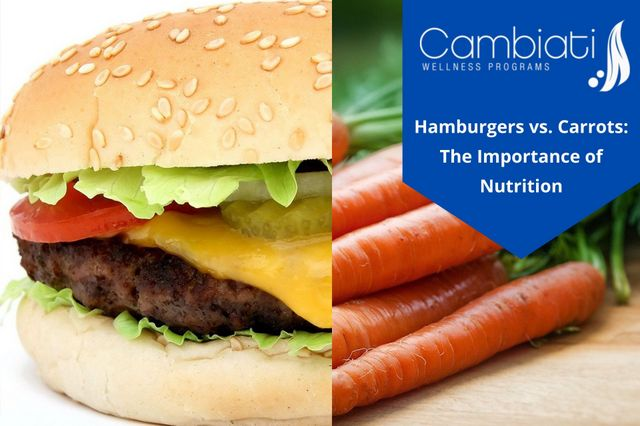 Hamburgers vs. Carrots: The Importance of Nutrition