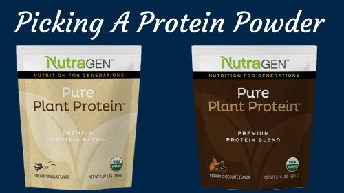 Picking A Protein Powder