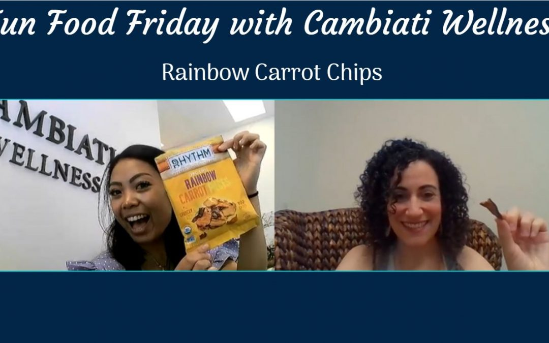 Fun Food Friday- Rainbow Carrot Chips