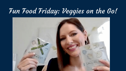 Fun Food Friday: Veggies in a Pouch
