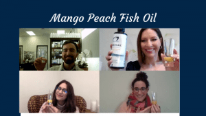 Mango Peach Fish Oil